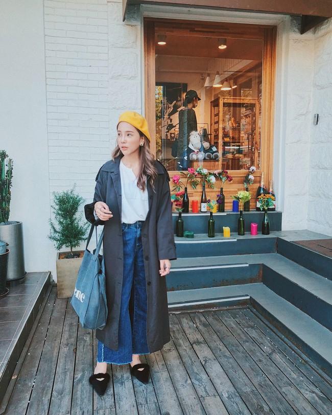 15 công thức diện áo trench coat đẹp miễn chê, xứng đáng để các nàng áp dụng suốt mùa đông này - Ảnh 12.