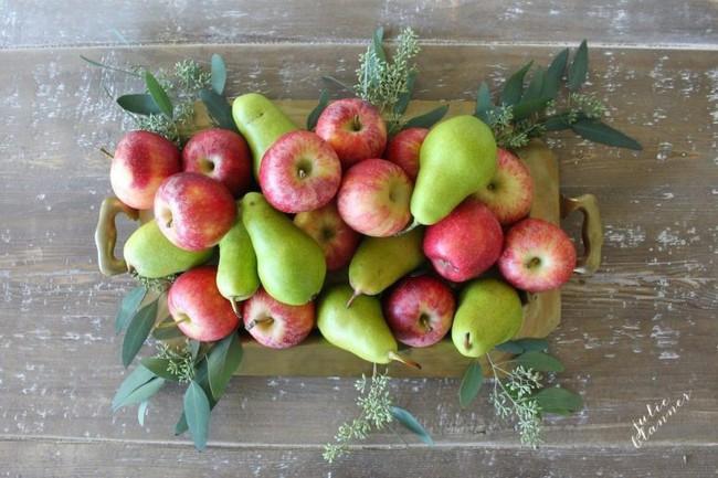 Trang trí nhà thần diệu đậm sắc thu từ hoa quả xinh yêu, có sẵn trong mùa - Ảnh 2.