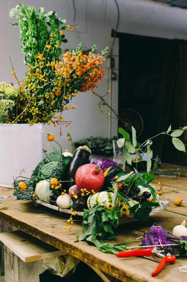 Trang trí nhà thần diệu đậm sắc thu từ hoa quả xinh yêu, có sẵn trong mùa - Ảnh 3.