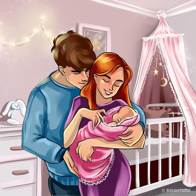 """Hài hước mà chân thực, bộ tranh phản ánh 9 tháng mang thai vốn dĩ """"không như là mơ"""" với các mẹ bầu - Ảnh 12."""