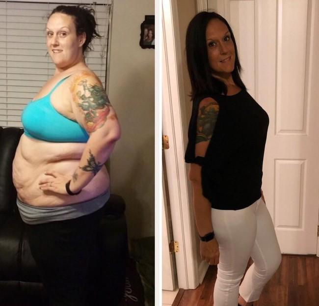 11 màn lột xác cực ngoạn mục khiến chị em phải trầm trồ trước độ vi diệu của việc giảm cân - Ảnh 5.
