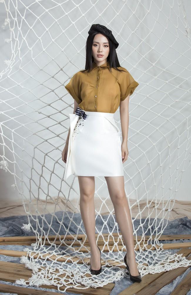Khánh Linh The Face lại khoe váy áo sang chảnh sau khi được lên tạp chí nước ngoài vì mặc đẹp - Ảnh 12.