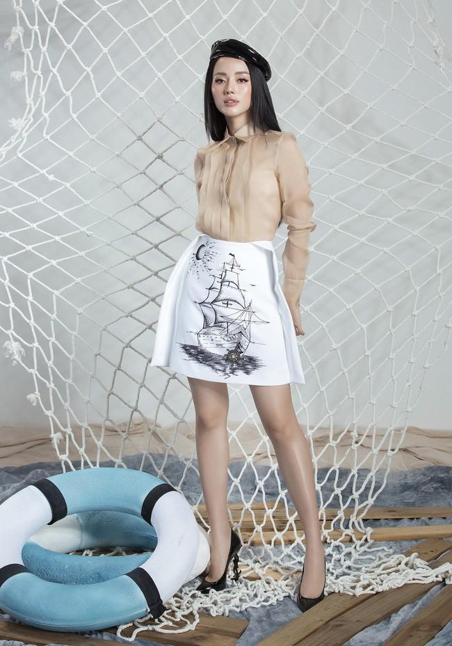 Khánh Linh The Face lại khoe váy áo sang chảnh sau khi được lên tạp chí nước ngoài vì mặc đẹp - Ảnh 13.
