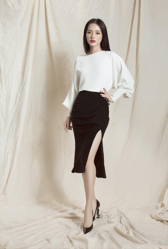 Khánh Linh The Face lại khoe váy áo sang chảnh sau khi được lên tạp chí nước ngoài vì mặc đẹp - Ảnh 10.