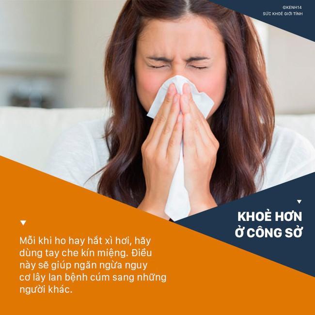 Dân văn phòng rất dễ bị cảm cúm nếu cứ vô tư làm những điều sau - Ảnh 3.