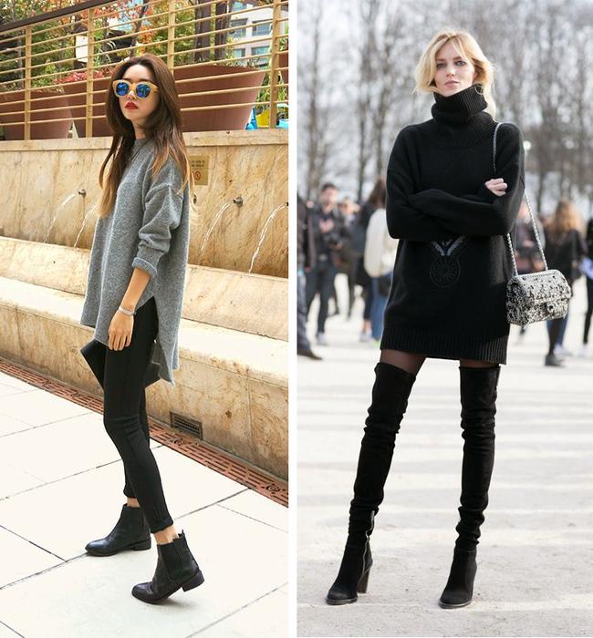 7 kiểu trang phục mùa đông mang đến cho chị em vẻ đẹp thời thượng mà không lo bị lạnh - Ảnh 6.