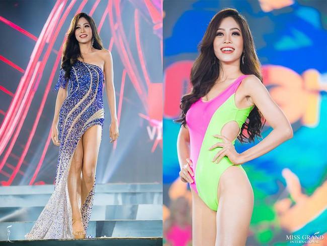 Ngắm đầm dạ hội mà Phương Nga sẽ mặc tại chung kết Miss Grand 2018 lại thấy na ná đầm của Huyền My năm ngoái - Ảnh 1.