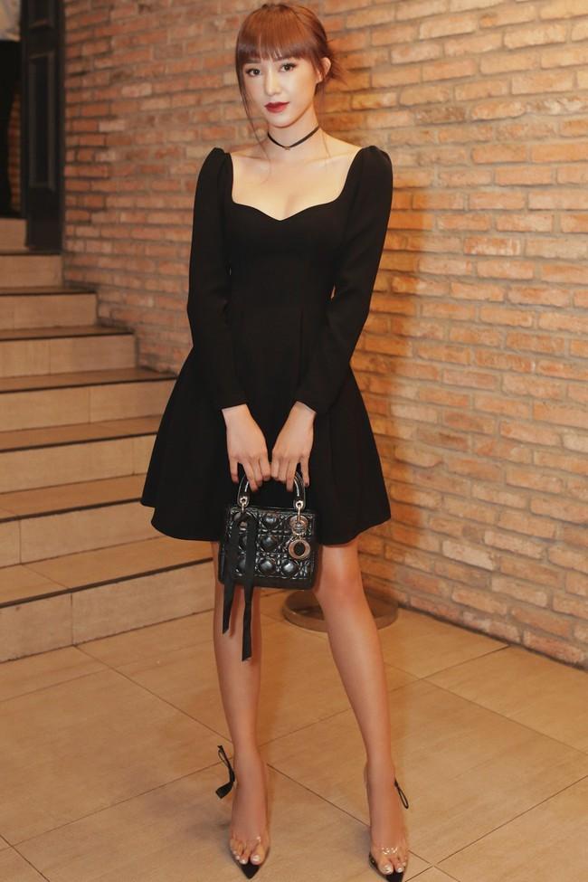 Midu trẻ đẹp như nữ sinh đến chúc mừng bạn thân Trịnh Thăng Bình - Ảnh 8.