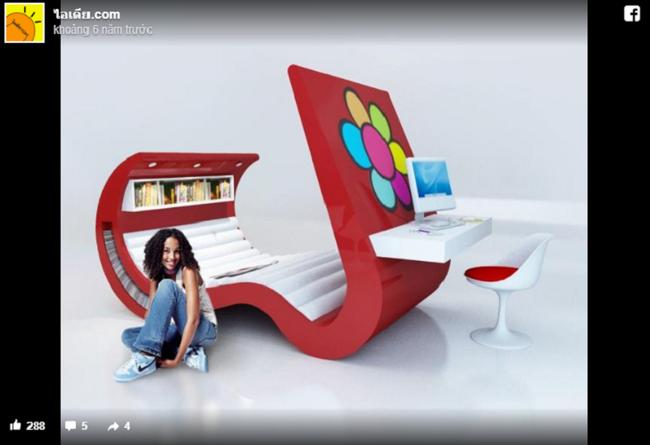 11 thiết kế giường hiện đại và thoải mái khiến bạn nhìn 1 lần là ưng ngay - Ảnh 11.
