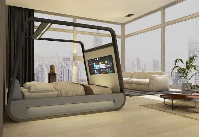 11 thiết kế giường hiện đại và thoải mái khiến bạn nhìn 1 lần là ưng ngay - Ảnh 4.