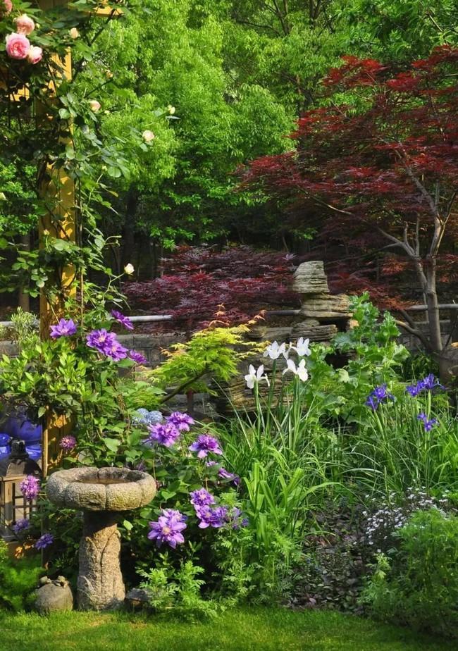 Tất bật nhiều năm tuổi trẻ, người phụ nữ tuổi 40 dành dụm tiền mua căn nhà vườn xinh xắn sống cuộc đời an yên - Ảnh 11.