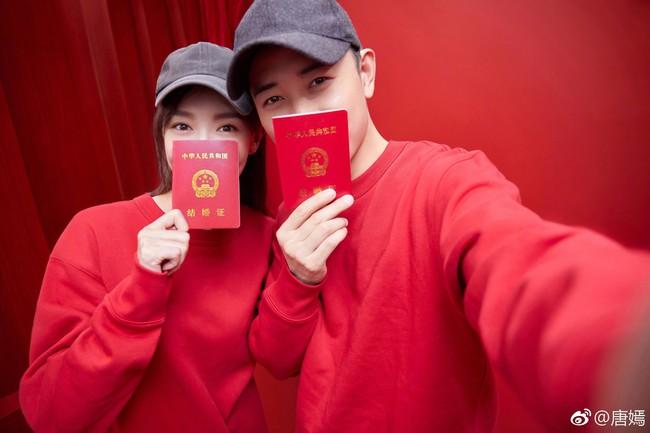 Đường Yên – La Tấn tuyên bố đã kết hôn, chụp ảnh cưới lãng mạn và ngọt ngào - Ảnh 1.