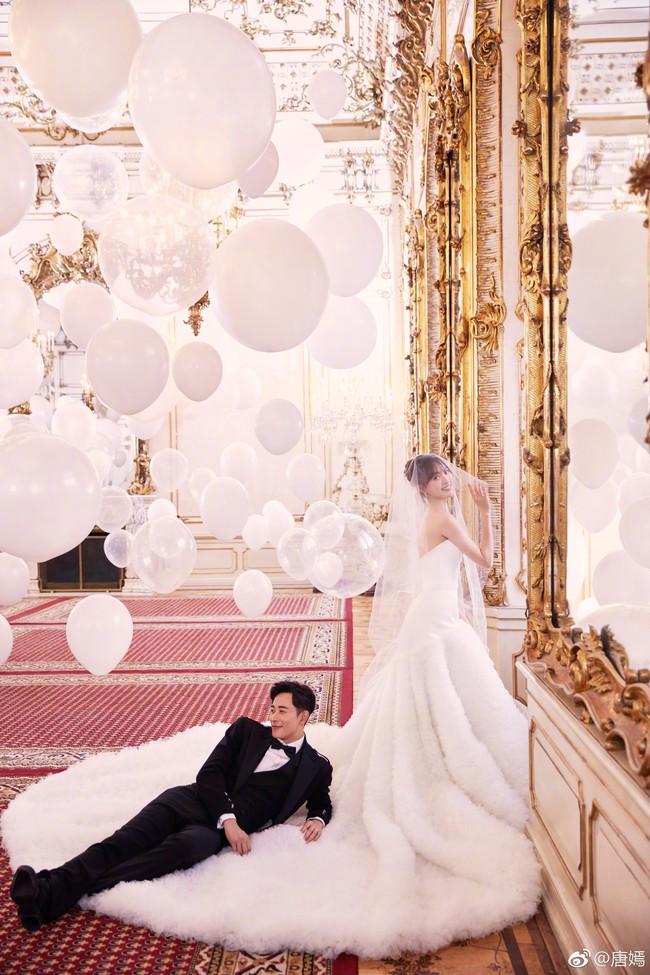 Đường Yên – La Tấn tuyên bố đã kết hôn, chụp ảnh cưới lãng mạn và ngọt ngào - Ảnh 3.