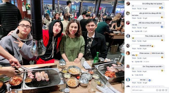 Đăng ảnh đi chơi Hàn Quốc, Sơn Tùng M-TP vô tình biến bố mẹ mình thành cặp bố mẹ chồng quốc dân lúc nào không hay - Ảnh 2.