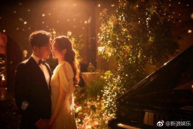 Đường Yên - La Tấn xuất hiện trong khung cảnh đẹp như mơ của tiệc tiền đám cưới - Ảnh 6.