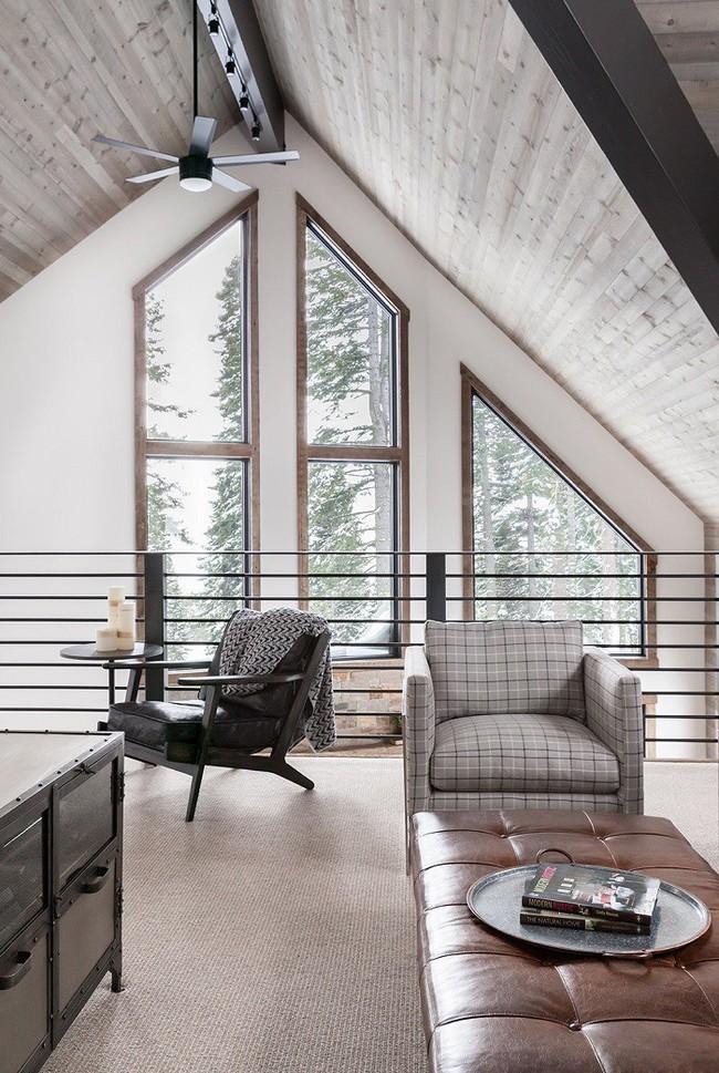 7 ngôi nhà nhỏ được cải tạo có thiết kế nội thất hiện đại khác xa với cảnh quan bên ngoài - Ảnh 6.