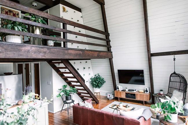 7 ngôi nhà nhỏ được cải tạo có thiết kế nội thất hiện đại khác xa với cảnh quan bên ngoài - Ảnh 9.