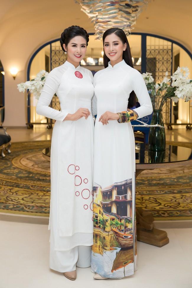 Hoa hậu Tiểu Vy, Đỗ Mỹ Linh lần đầu đi sự kiện cùng nhau sau khi đăng quang - Ảnh 6.