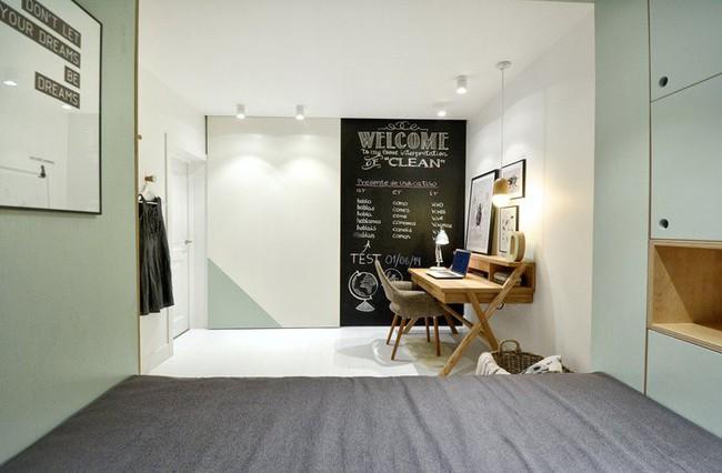 Với cách thiết kế thông minh, cô gái đã biến căn phòng 12m² đi thuê trở thành không gian sống vô cùng sang chảnh - Ảnh 6.