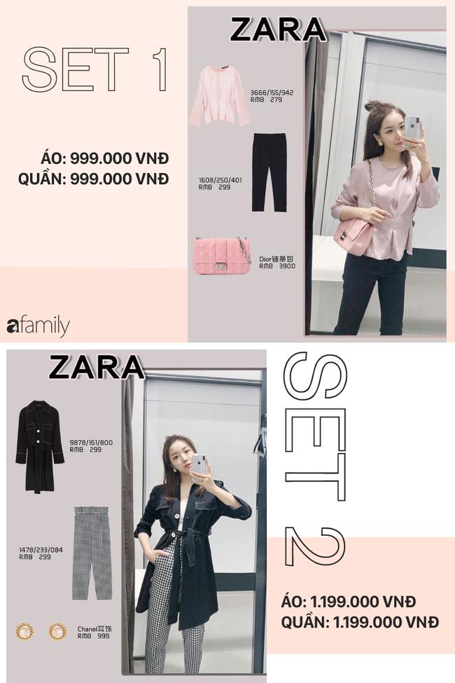 12 set đồ tuyệt xinh từ Zara, H&M sẽ giúp bạn có được style chuẩn thanh lịch cho thu này - Ảnh 1.