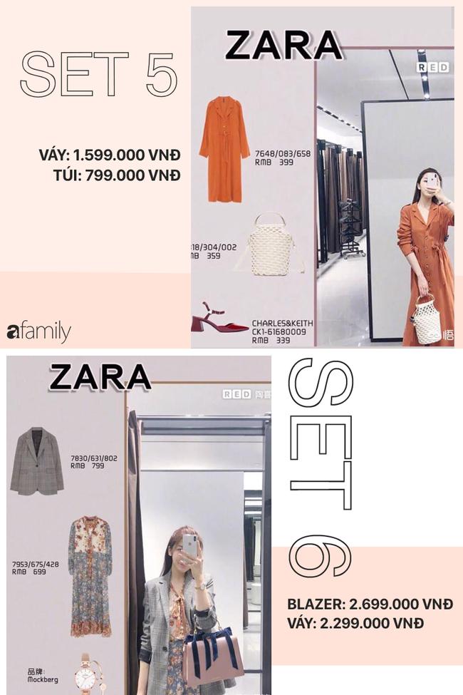 12 set đồ tuyệt xinh từ Zara, H&M sẽ giúp bạn có được style chuẩn thanh lịch cho thu này - Ảnh 3.