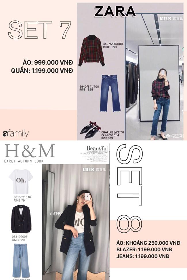 12 set đồ tuyệt xinh từ Zara, H&M sẽ giúp bạn có được style chuẩn thanh lịch cho thu này - Ảnh 4.
