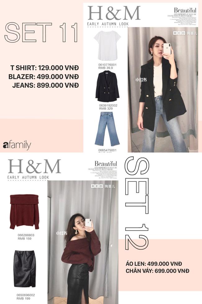 12 set đồ tuyệt xinh từ Zara, H&M sẽ giúp bạn có được style chuẩn thanh lịch cho thu này - Ảnh 6.