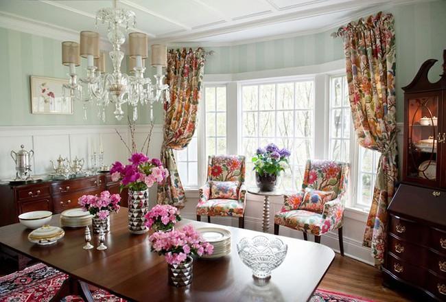 Chìm đắm trong vẻ đẹp ngọt ngào của những căn phòng ăn được tô điểm với sắc hồng - Ảnh 13.