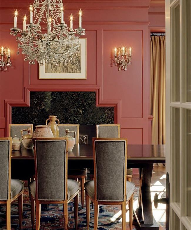 Chìm đắm trong vẻ đẹp ngọt ngào của những căn phòng ăn được tô điểm với sắc hồng - Ảnh 7.