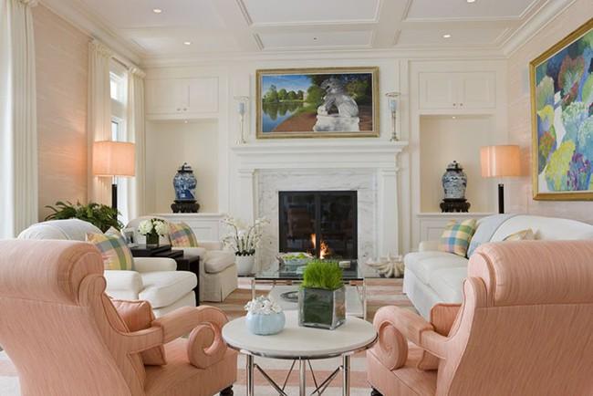 Cho phòng khách vẻ đẹp mơ màng để đón thu sang với gam màu pastel - Ảnh 1.