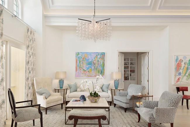 Cho phòng khách vẻ đẹp mơ màng để đón thu sang với gam màu pastel - Ảnh 13.