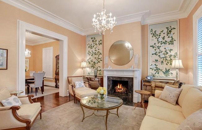 Cho phòng khách vẻ đẹp mơ màng để đón thu sang với gam màu pastel - Ảnh 8.