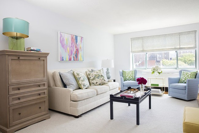 Cho phòng khách vẻ đẹp mơ màng để đón thu sang với gam màu pastel - Ảnh 9.