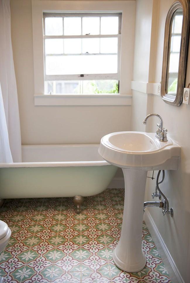 Để căn phòng tắm gia đình bớt nhàm chán bạn đừng bao giờ quên điều này - Ảnh 7.