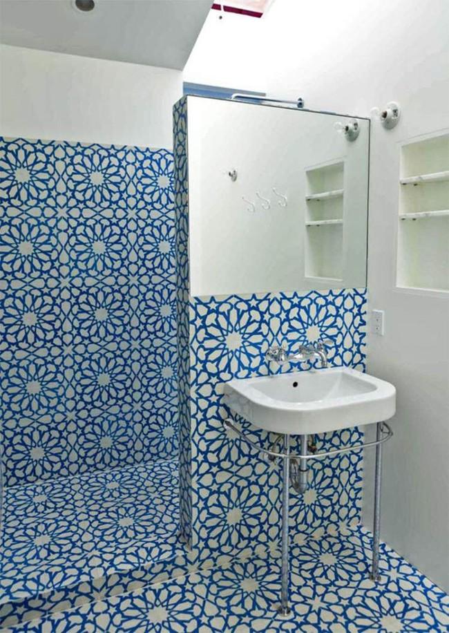 Để căn phòng tắm gia đình bớt nhàm chán bạn đừng bao giờ quên điều này - Ảnh 9.
