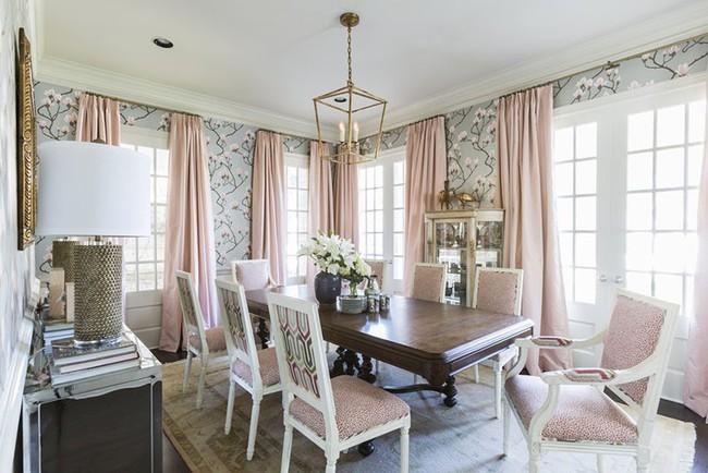 Khi muốn căn nhà nhỏ luôn ngập tràn sức sống thì đừng quên giấy dán tường họa tiết hoa lá - Ảnh 10.