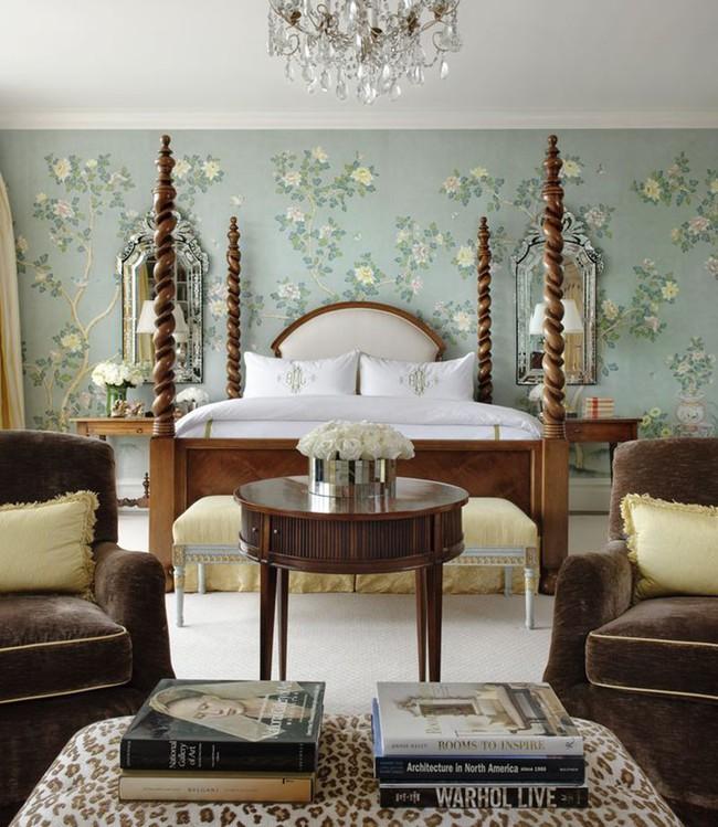 Khi muốn căn nhà nhỏ luôn ngập tràn sức sống thì đừng quên giấy dán tường họa tiết hoa lá - Ảnh 3.