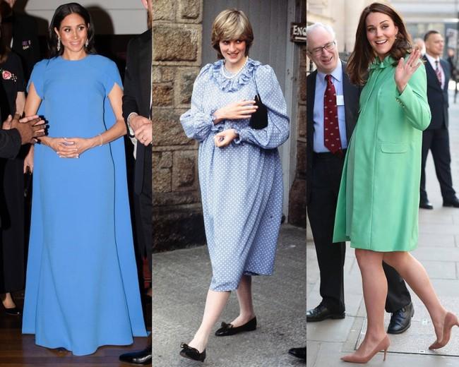 Nhìn lại style bầu bí của Công nương Diana mới thấy bà cẩn trọng hơn nhiều so với hai cô con dâu ở điểm này - Ảnh 1.