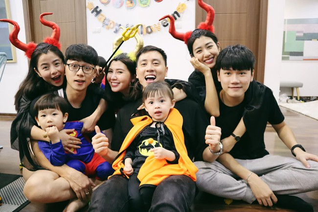 Halloween cập bến 3 gia đình hot nhất MXH: Xoài - Cam - Đậu biến hóa thành những siêu anh hùng dễ thương - Ảnh 3.