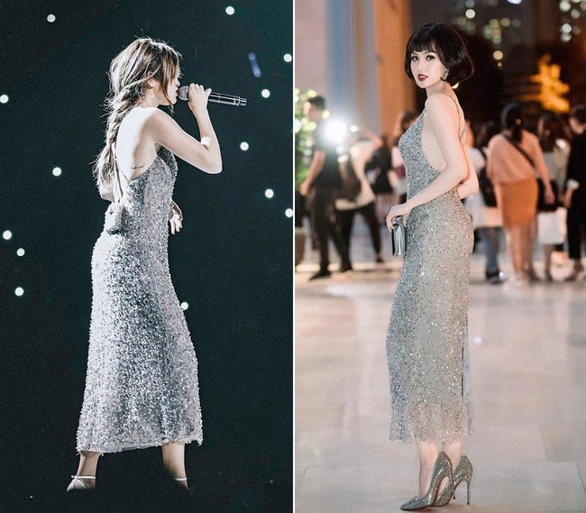 Tái xuất đẹp ngẩn ngơ nhưng Tâm Tít lại dính nghi án mặc váy nhái của Selena Gomez từ 2 năm trước - Ảnh 5.