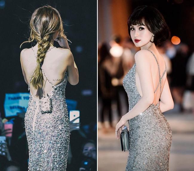 Tái xuất đẹp ngẩn ngơ nhưng Tâm Tít lại dính nghi án mặc váy nhái của Selena Gomez từ 2 năm trước - Ảnh 6.