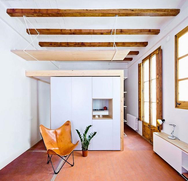 Căn hộ 70m2 có phòng bếp ẩn chứa vạn điều bí mật bên trong - Ảnh 5.