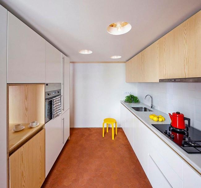 Căn hộ 70m2 có phòng bếp ẩn chứa vạn điều bí mật bên trong - Ảnh 7.