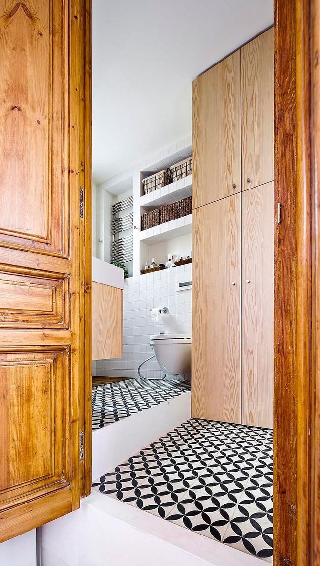 Căn hộ 70m2 có phòng bếp ẩn chứa vạn điều bí mật bên trong - Ảnh 8.