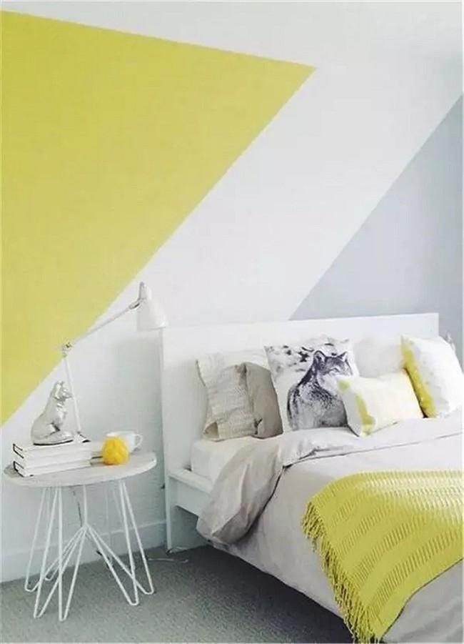 Nếu không muốn đụng hàng bạn có thể kết hợp màu sắc phòng ngủ theo phong cách không giống ai - Ảnh 1.