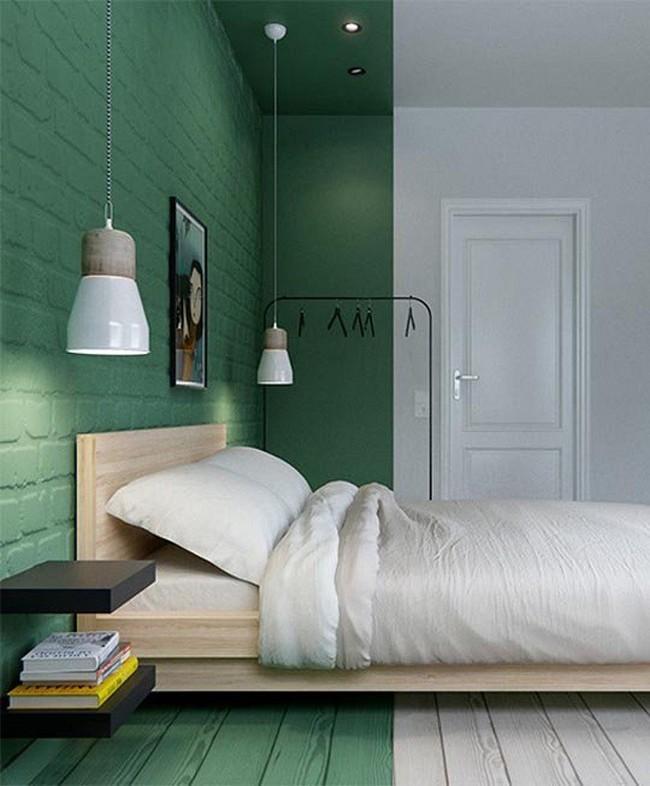 Nếu không muốn đụng hàng bạn có thể kết hợp màu sắc phòng ngủ theo phong cách không giống ai - Ảnh 10.