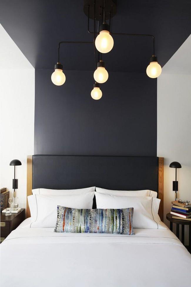 Nếu không muốn đụng hàng bạn có thể kết hợp màu sắc phòng ngủ theo phong cách không giống ai - Ảnh 11.