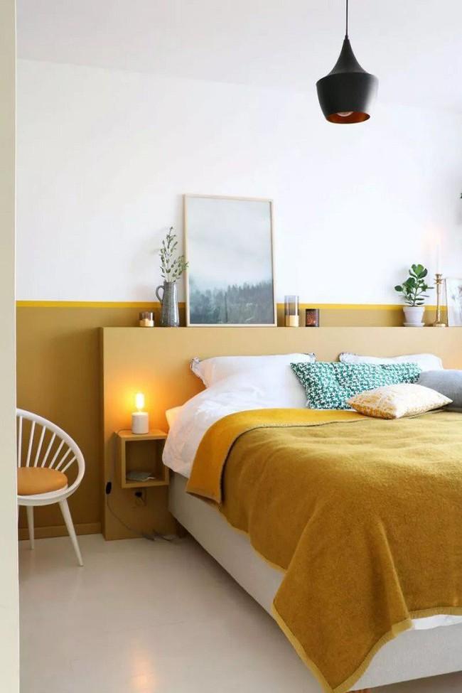 Nếu không muốn đụng hàng bạn có thể kết hợp màu sắc phòng ngủ theo phong cách không giống ai - Ảnh 12.