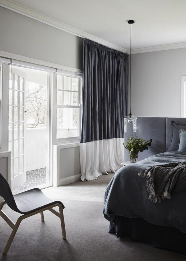 Nếu không muốn đụng hàng bạn có thể kết hợp màu sắc phòng ngủ theo phong cách không giống ai - Ảnh 13.