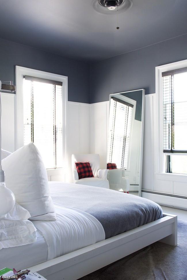 Nếu không muốn đụng hàng bạn có thể kết hợp màu sắc phòng ngủ theo phong cách không giống ai - Ảnh 2.